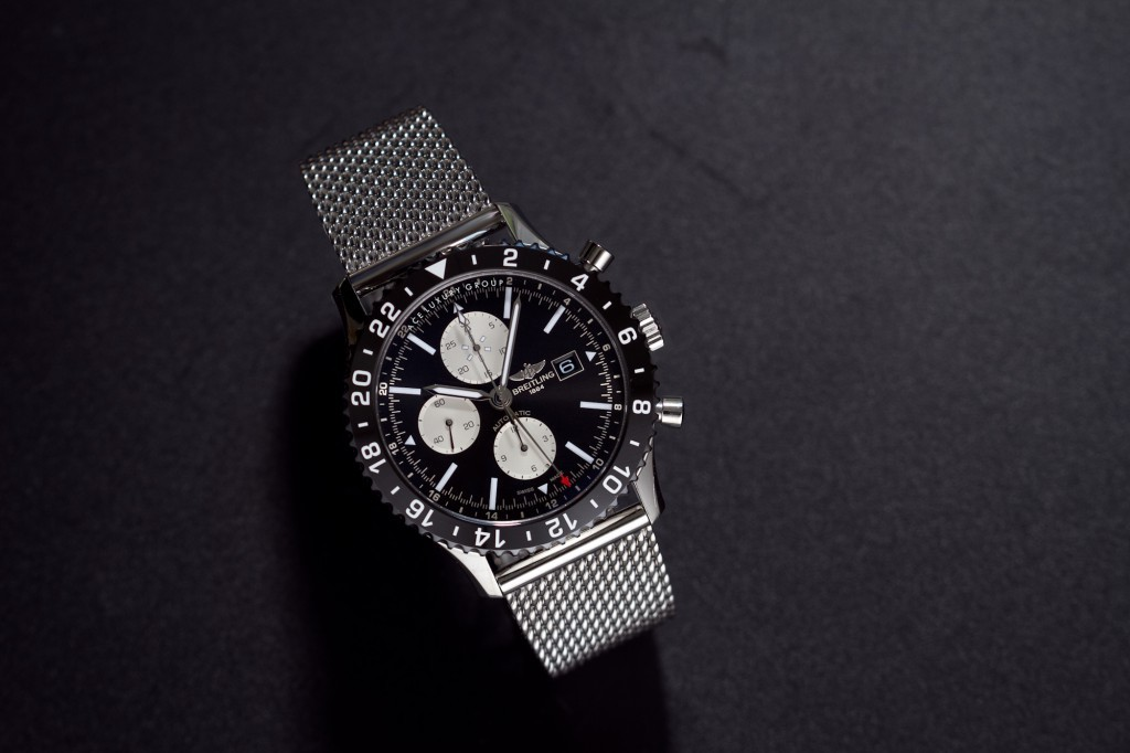 Breitling Chronoliner Ceramic Bezel 48MM Steel Case-