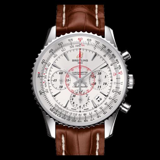 Breitling Montbrillant brown watches strap replica