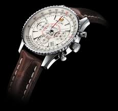 Breitling Montbrillant leathern watches strap replica