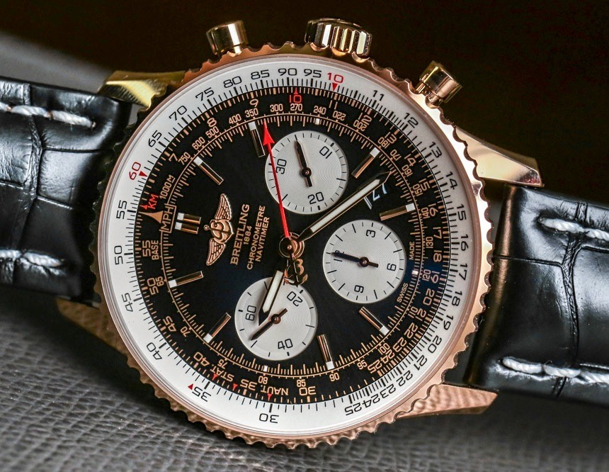 Breitling Navitimer 01 Gold Watches replica