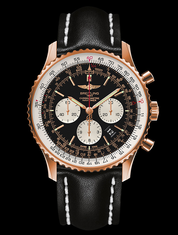 Breitling Navitimer 01 Gold Watches replica1