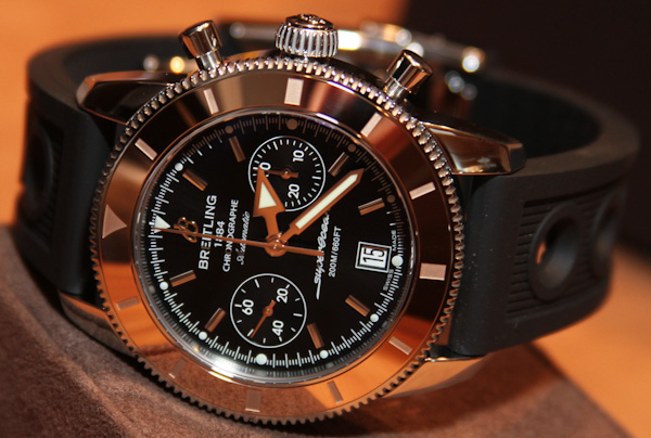 Breitling Superocean Heritage Red Gold Watches replica
