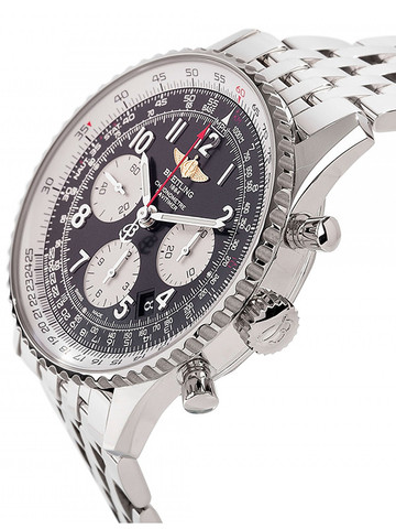 Breitling Navitimer of silver watch strap replica