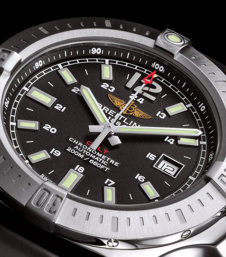 Breitling Superocean of black dial replica