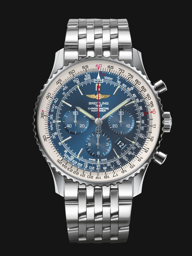 Breitling Navitimer 01 Fake Watches With Steel Bracelets