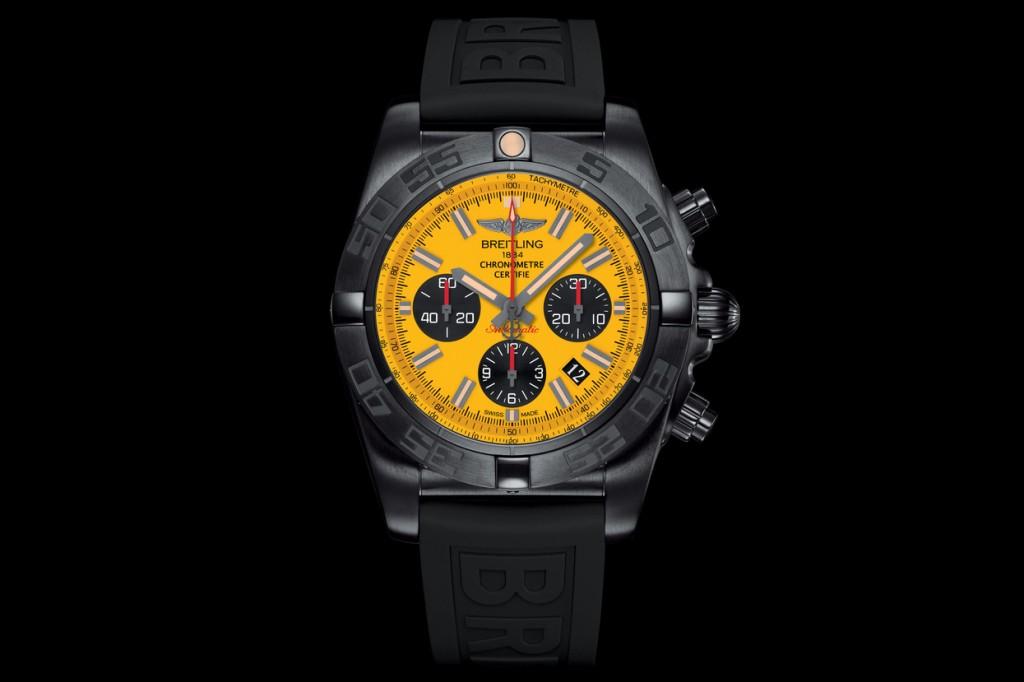Black Counters Replica Breitling Chronomat 44 Blacksteel Watches