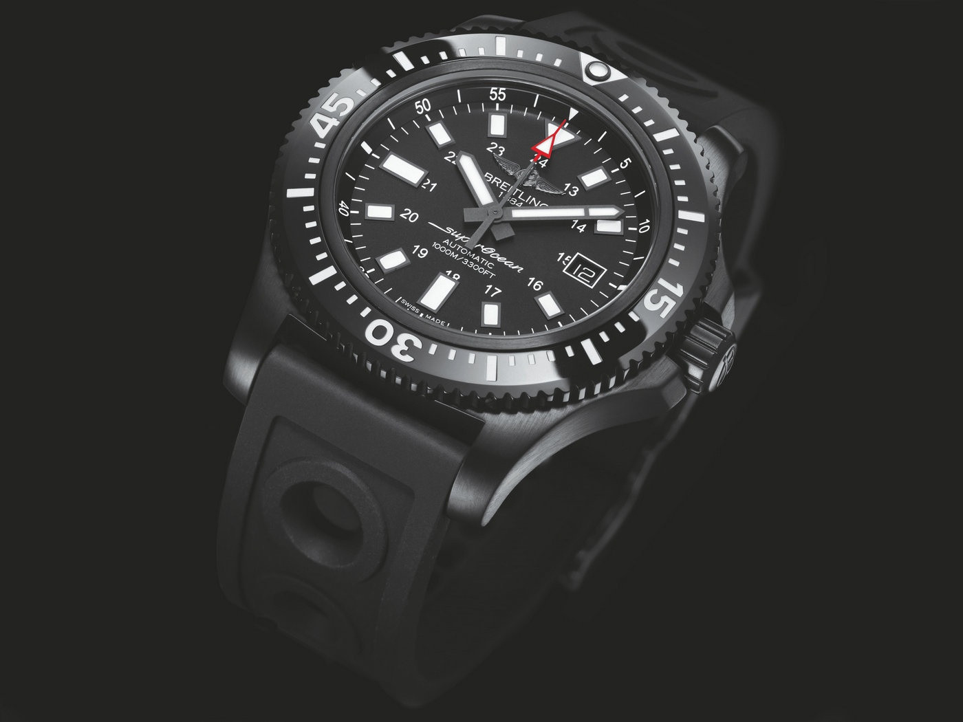 Breitling Superocean Replica Watches With Black Dials