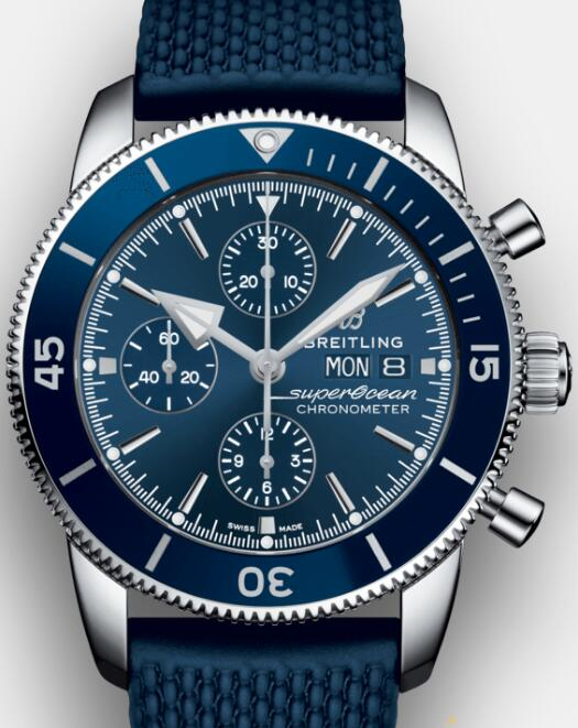 The blue dials and straps give people a noble and calm image.