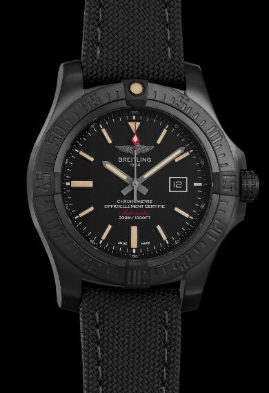 Swiss duplication watches are solid in black titanium.
