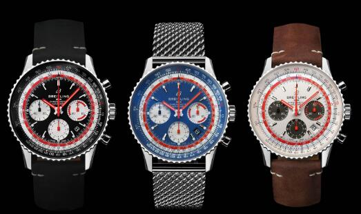 All these three watches are created to salute to the three airlines.