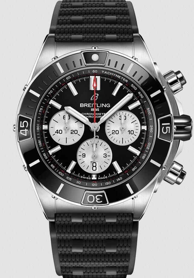 AAA knock-off watches maintain the classic effect with black color.