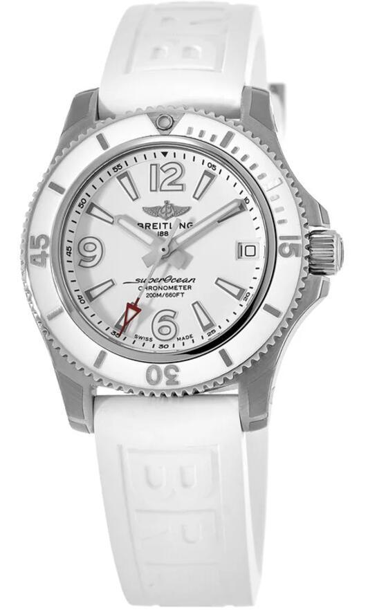 1:1 online fake watches present large Arabic numerals.